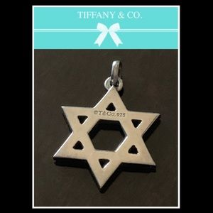 Tiffany & Co. ✡️ Star of David charm or pendant